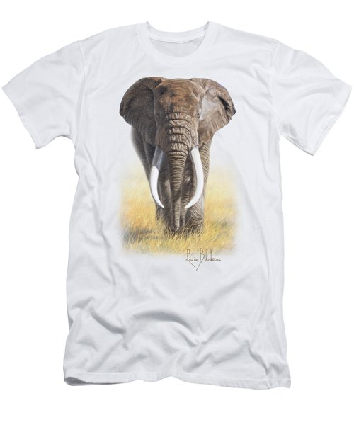 Power Of Nature Men's T-Shirt (Slim Fit) by Lucie Bilodeau