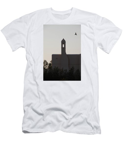 Men's T-Shirt (Slim Fit) featuring the photograph Prayer Flight by Jez C Self