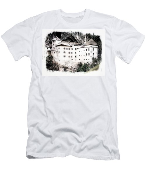 Predjama Castle Men's T-Shirt (Athletic Fit)