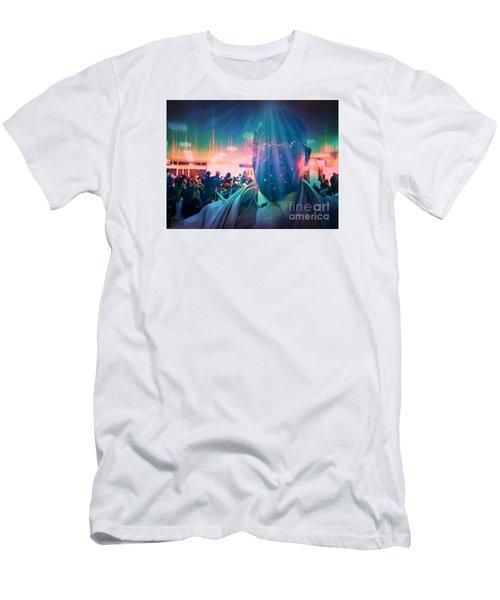 Men's T-Shirt (Slim Fit) featuring the photograph Presence by Fania Simon