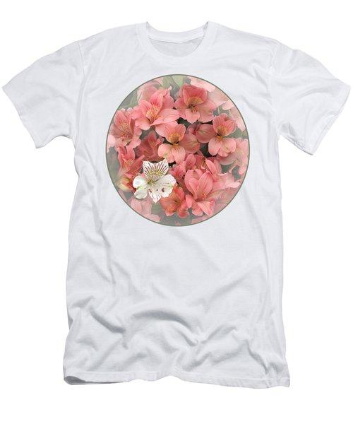 Prima Donna - Alstroemeria Men's T-Shirt (Slim Fit) by Gill Billington