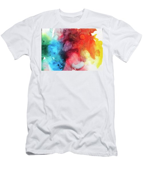 Primary Colors Men's T-Shirt (Athletic Fit)