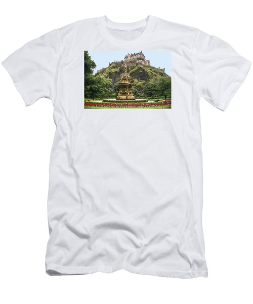 Princes Street Gardens Men's T-Shirt (Athletic Fit)