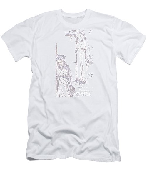 Men's T-Shirt (Slim Fit) featuring the photograph Procession Of Faith 2 by Linda Shafer