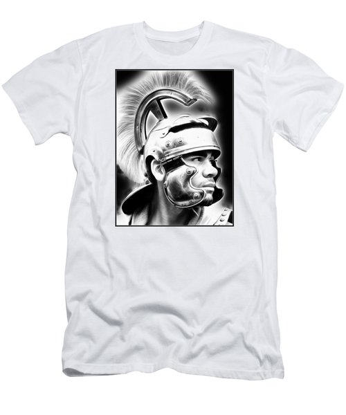 Profile Of A Trojan Hero Men's T-Shirt (Athletic Fit)