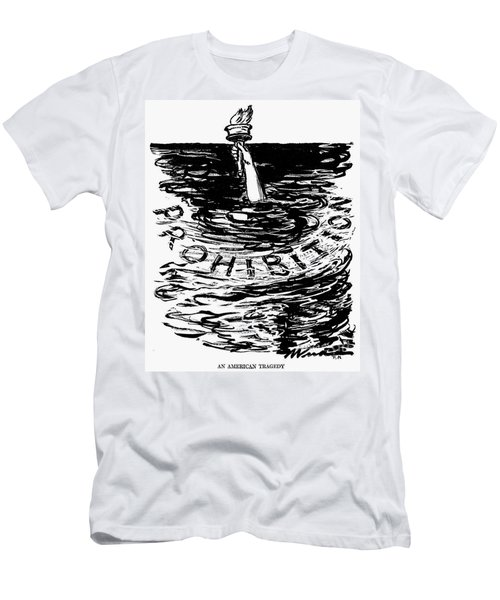 Prohibition Cartoon, 1920s - To License For Professional Use Visit Granger.com Men's T-Shirt (Athletic Fit)
