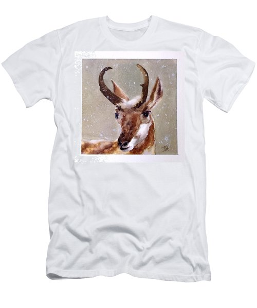 Pronghorn Men's T-Shirt (Slim Fit)