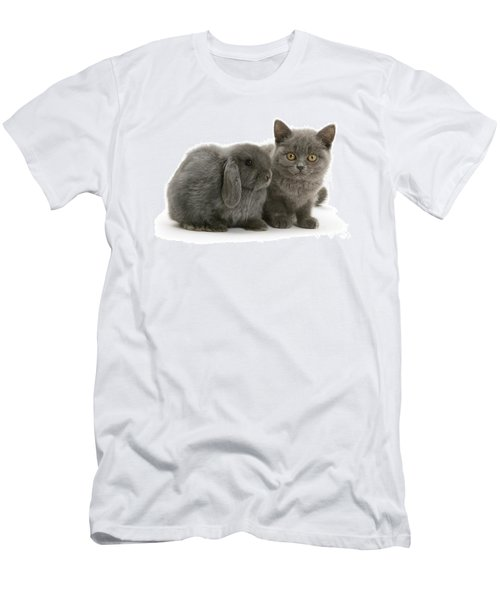 Proud Of My Grey Hare Men's T-Shirt (Athletic Fit)
