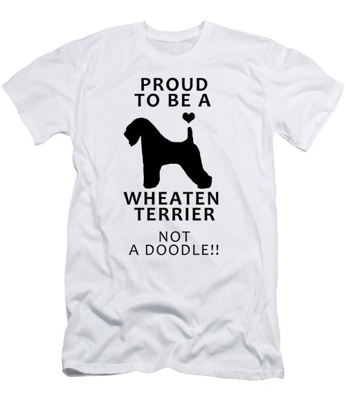 Proud To Be A Wheaten Men's T-Shirt (Athletic Fit)
