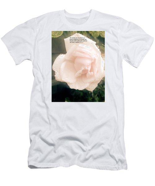 Psalm 23 Men's T-Shirt (Athletic Fit)