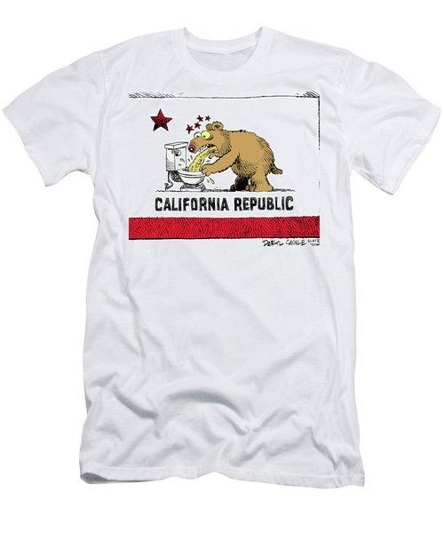 Puke Politics Men's T-Shirt (Athletic Fit)