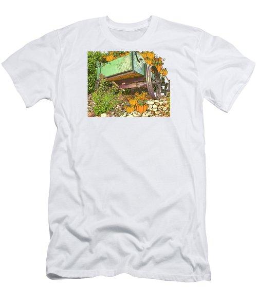 Pumpkin Harvest Men's T-Shirt (Slim Fit) by Larry Bishop