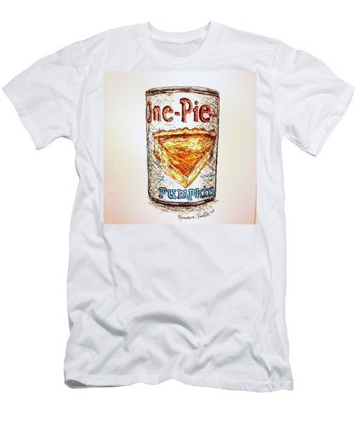 Pumpkin Pie Can Men's T-Shirt (Athletic Fit)