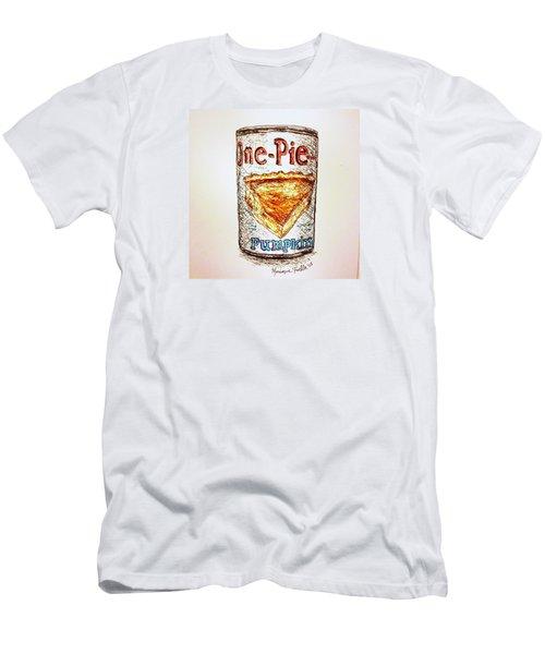 Pumpkin Pie Can Men's T-Shirt (Athletic Fit)