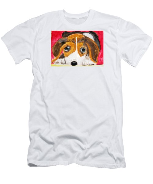 Puppy For Love Men's T-Shirt (Athletic Fit)