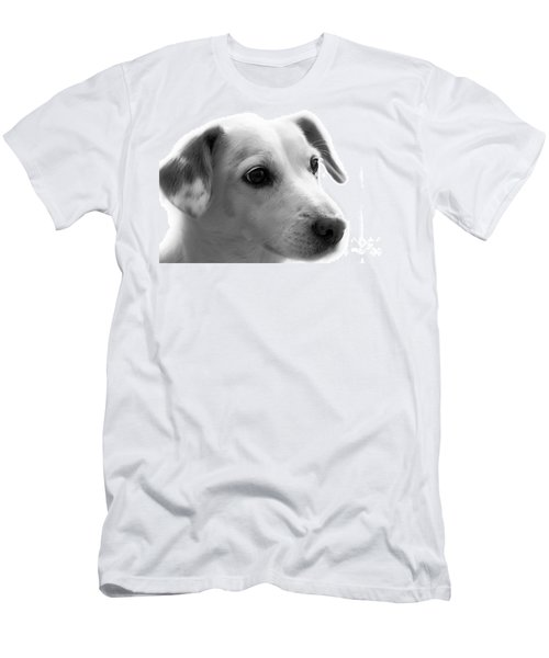 Puppy - Monochrome 4 Men's T-Shirt (Athletic Fit)