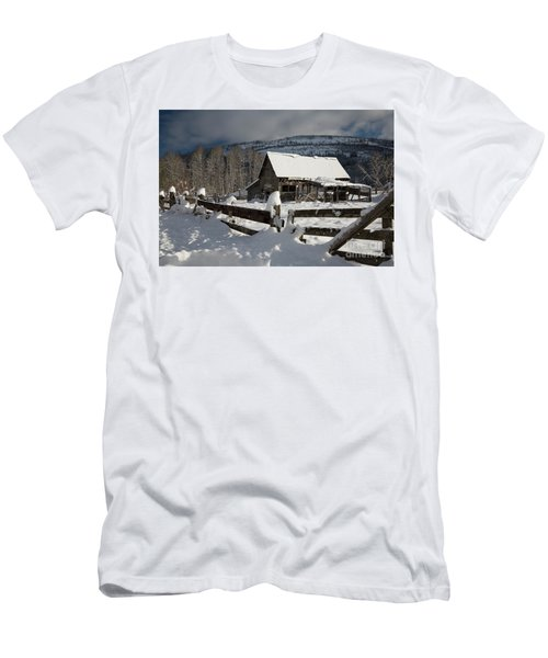 Purcell Mtn Barn Men's T-Shirt (Athletic Fit)