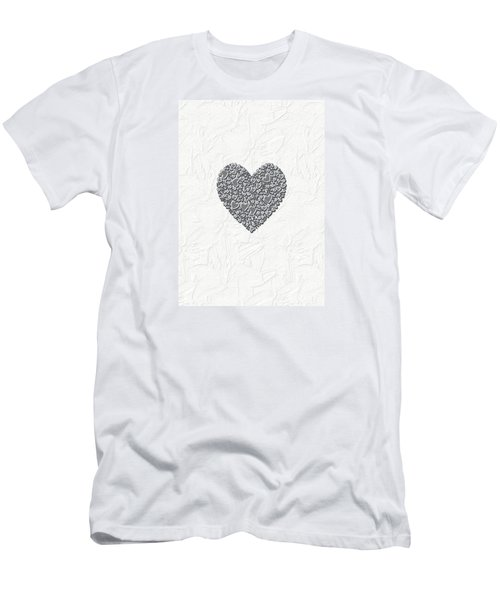 Men's T-Shirt (Slim Fit) featuring the digital art Pure Love by Linda Prewer