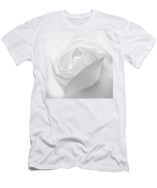 Purity - White Rose Men's T-Shirt (Athletic Fit)