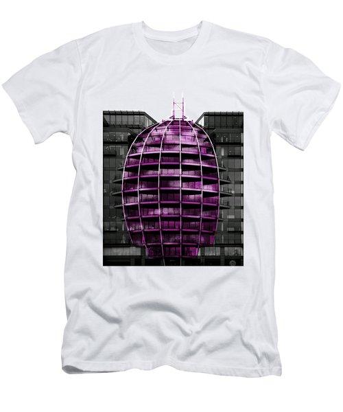 Purple Balloon Men's T-Shirt (Athletic Fit)