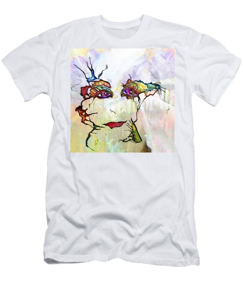 Purple Eyed Nymph Men's T-Shirt (Athletic Fit)