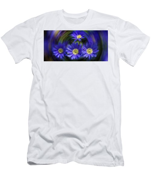 Purple In Nature Men's T-Shirt (Slim Fit) by Milena Ilieva