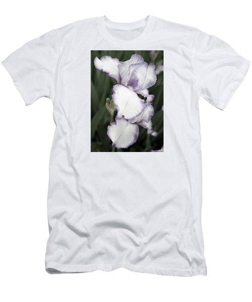 Purple Is Passion Men's T-Shirt (Slim Fit) by Sherry Hallemeier
