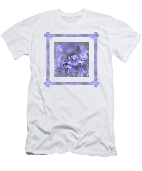 Purple Ribbons Men's T-Shirt (Athletic Fit)