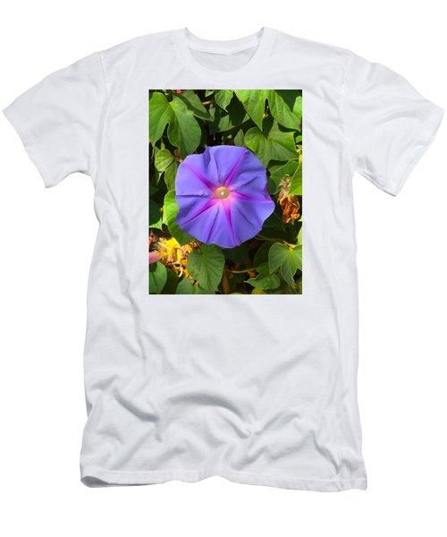 Purple Star Men's T-Shirt (Athletic Fit)