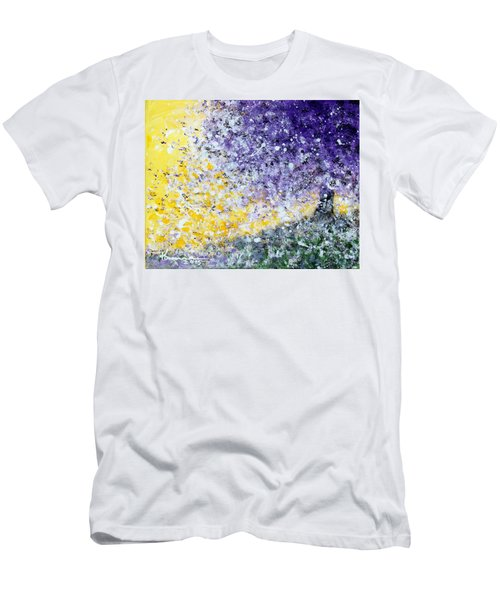 Purple Tree And The Afternoon Sun Men's T-Shirt (Athletic Fit)