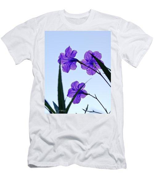 Purple Trio Men's T-Shirt (Athletic Fit)