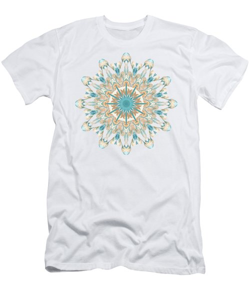Pussy Willow Pattern Men's T-Shirt (Athletic Fit)