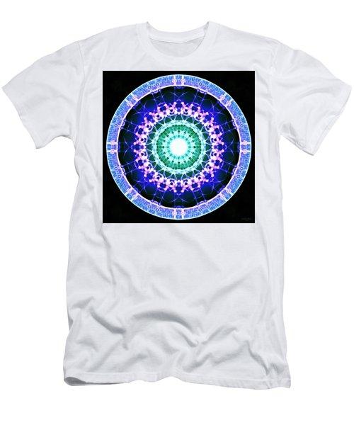 Men's T-Shirt (Athletic Fit) featuring the digital art Quadlife by Derek Gedney