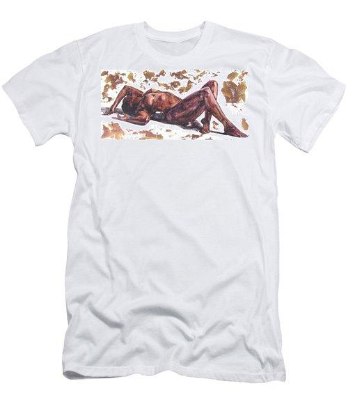 Queen In Gold II Men's T-Shirt (Athletic Fit)
