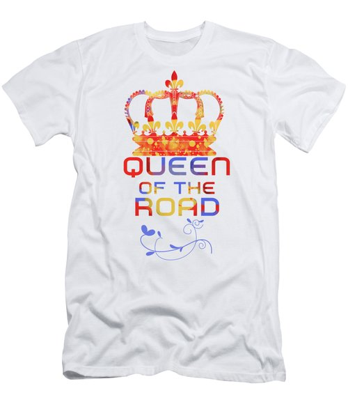 Queen Of The Road Men's T-Shirt (Athletic Fit)