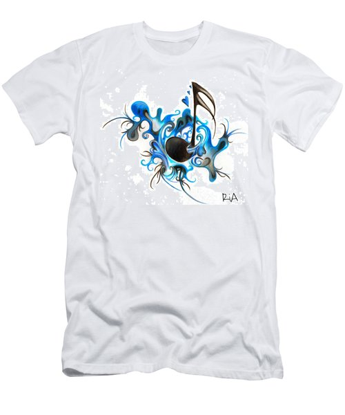 Quenched By Music Men's T-Shirt (Athletic Fit)