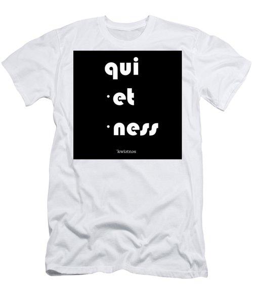 Qui Et Ness Men's T-Shirt (Athletic Fit)