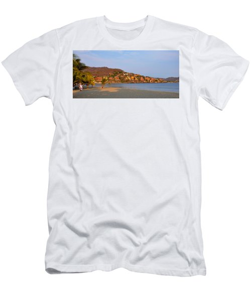 Quiet Afternoon Men's T-Shirt (Slim Fit) by Jim Walls PhotoArtist