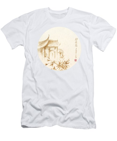 Quiet Night Thoughts - Round Men's T-Shirt (Athletic Fit)