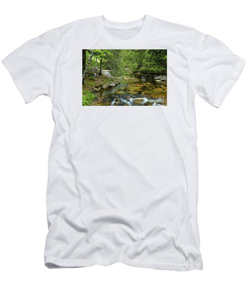 Quiet Place Men's T-Shirt (Slim Fit) by Alana Ranney