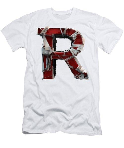 R Is Rock N Roll Men's T-Shirt (Athletic Fit)