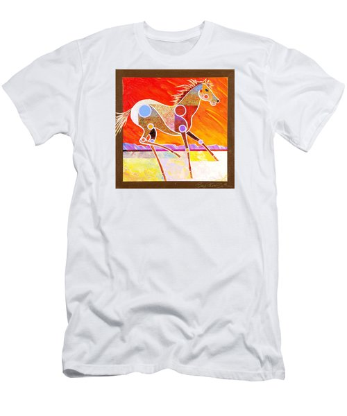Racing The Desert Men's T-Shirt (Athletic Fit)