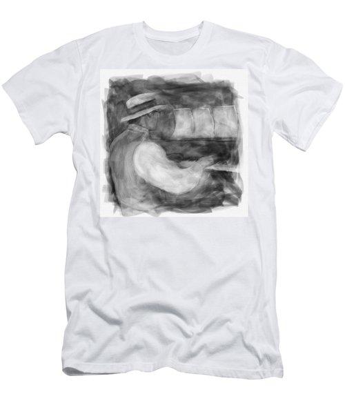 Ragtime Blues Men's T-Shirt (Athletic Fit)
