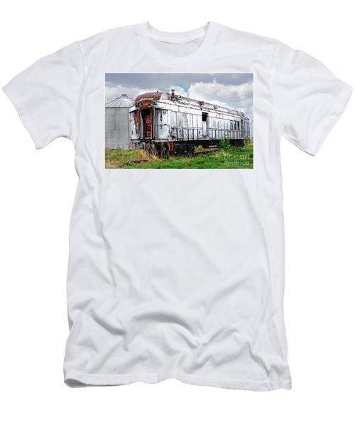 Rail Car Men's T-Shirt (Athletic Fit)