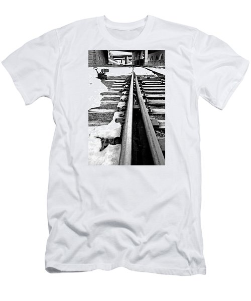 Rail Yard Switch Men's T-Shirt (Athletic Fit)