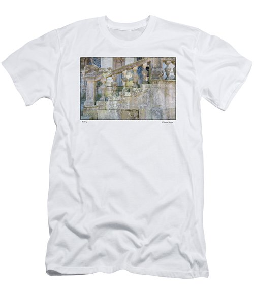 Railing Men's T-Shirt (Slim Fit) by R Thomas Berner