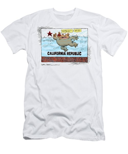 Rain And Drought In California Men's T-Shirt (Athletic Fit)
