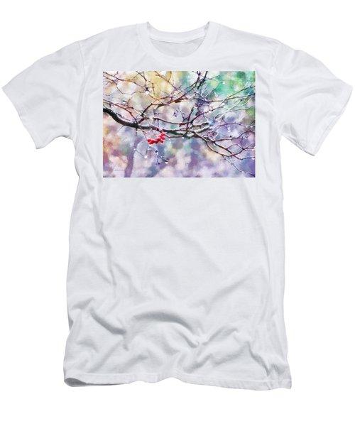 Rain Berries Men's T-Shirt (Athletic Fit)