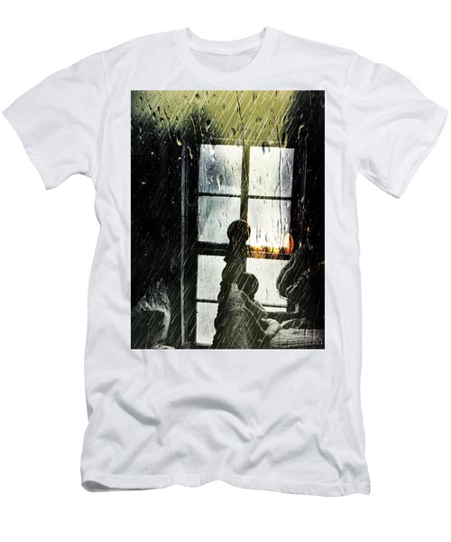 Rain In My Heart Men's T-Shirt (Athletic Fit)