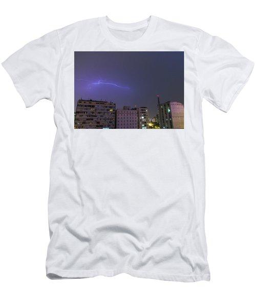 Rain Lightis Men's T-Shirt (Athletic Fit)